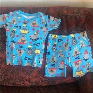 Kids pajamas with various characters print